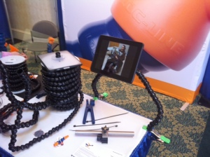 Modular Hose, Assistive Technology Kit, iPad